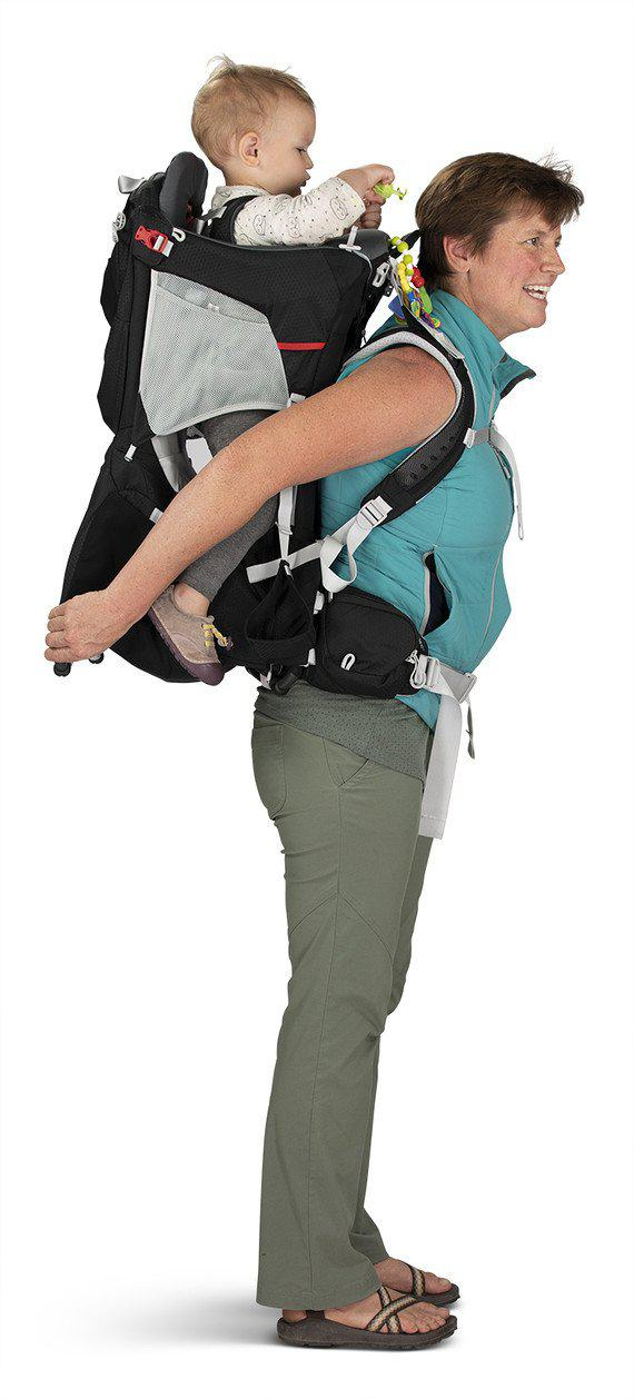 Osprey Child Carrier - Poco Plus - Starry Black