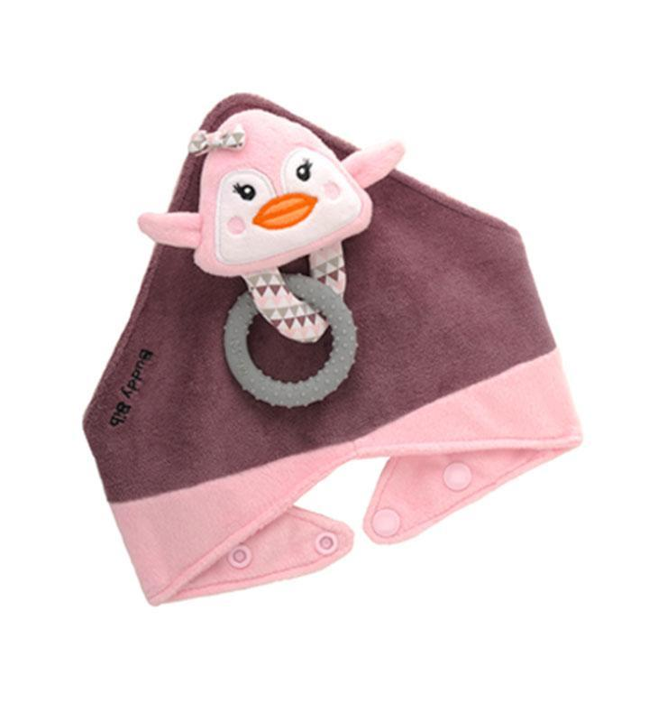 Malarkey Kids Buddy Bib - Pinky Penguin