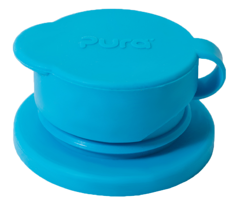 Pura Big Mouth Silicone Sport Top - Blue