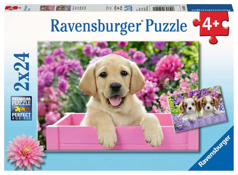 Ravensburger Puzzle - 2 x 24pc - Me And My Pal