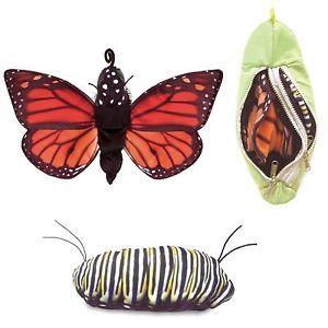 Folkmanis Puppets - Monarch Metamorphosis