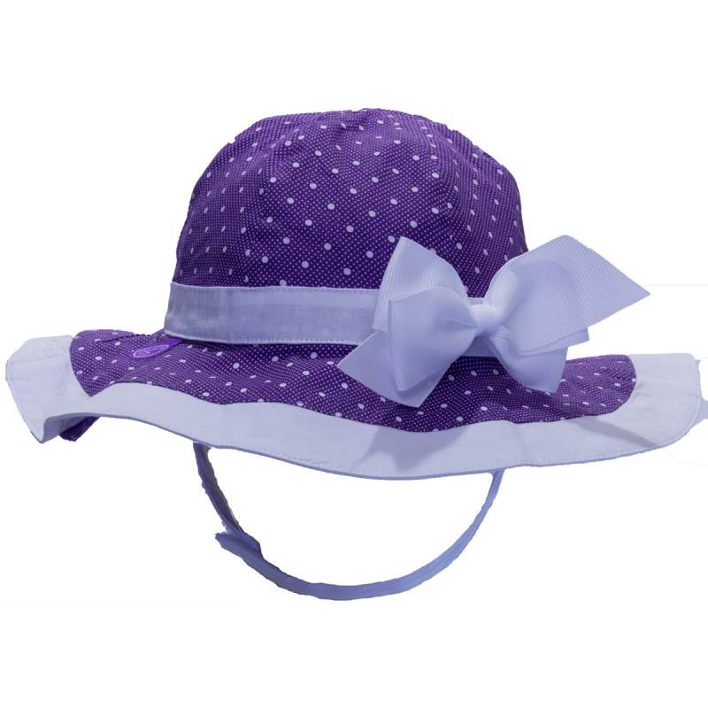 871f787724375 Calikids Reversible Bow Hat - Lavender – Mountain Baby