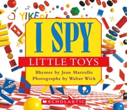 Book/I Spy Little Toys