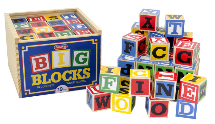 Alphabet Wooden Blocks