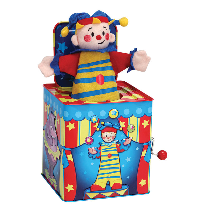 Silly Circus Jack In The Box