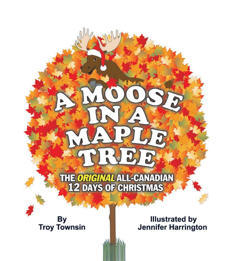 Book, Moose in a Maple Tree