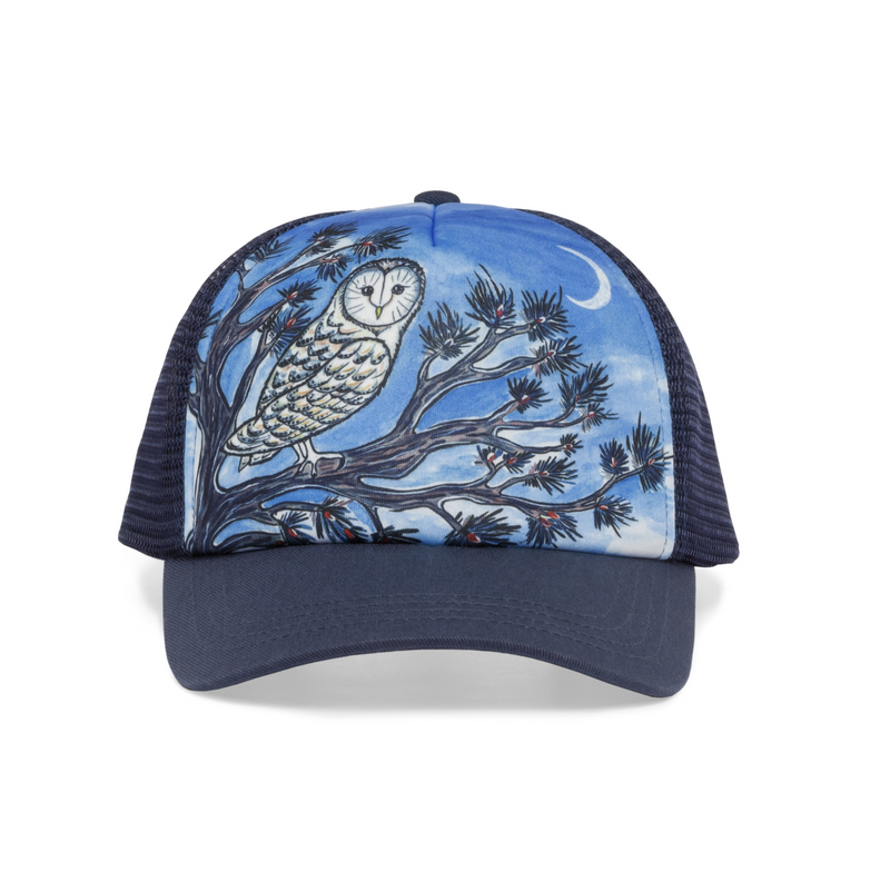 Sunday Afternoon Hats - Kids Trucker Hat - Night Owl