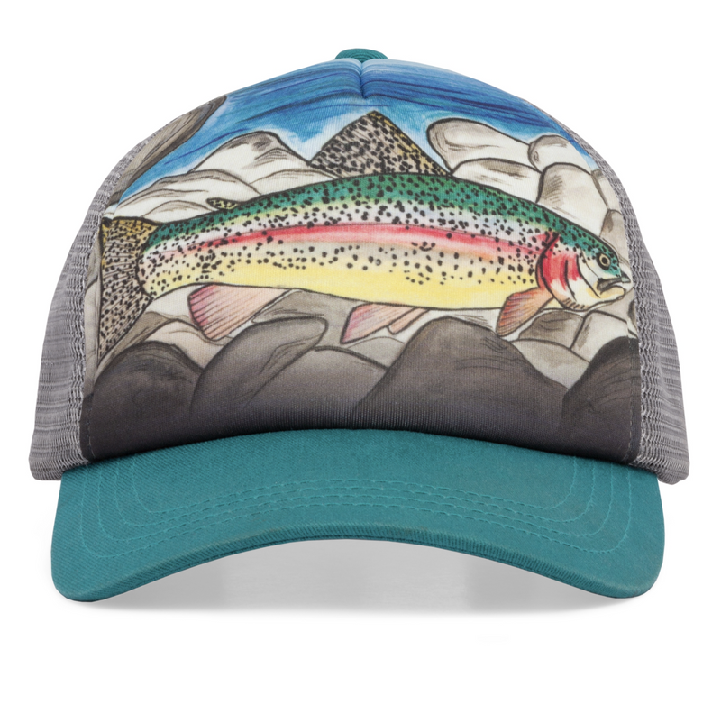 Sunday Afternoon Hats - Kids Trucker Hat - Rainbow Trout