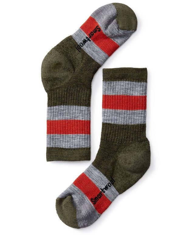 772723f1e1655 SmartWool Hiking Socks - Stripe Crew – Mountain Baby