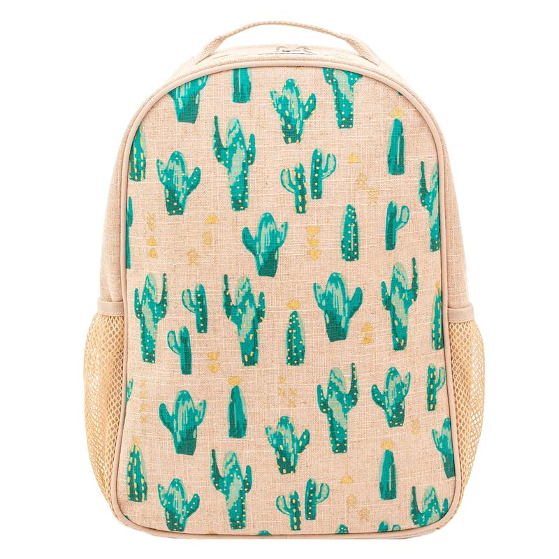 So Young Toddler Backpack - Cacti Desert