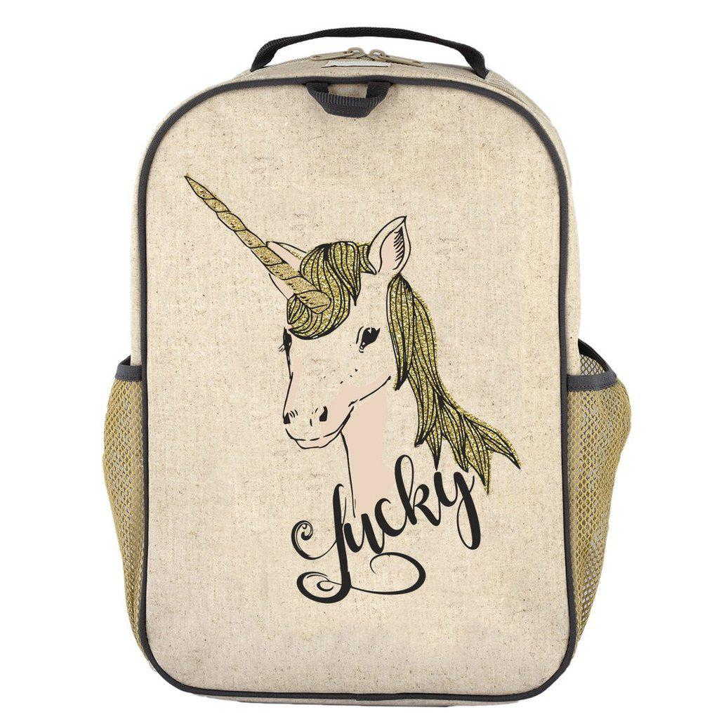 So Young Toddler Backpack - Lucky Unicorn