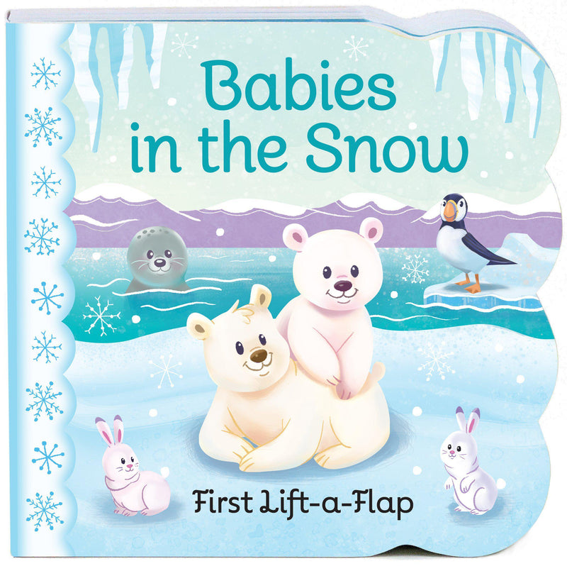 Book/liftflap/babies-snow
