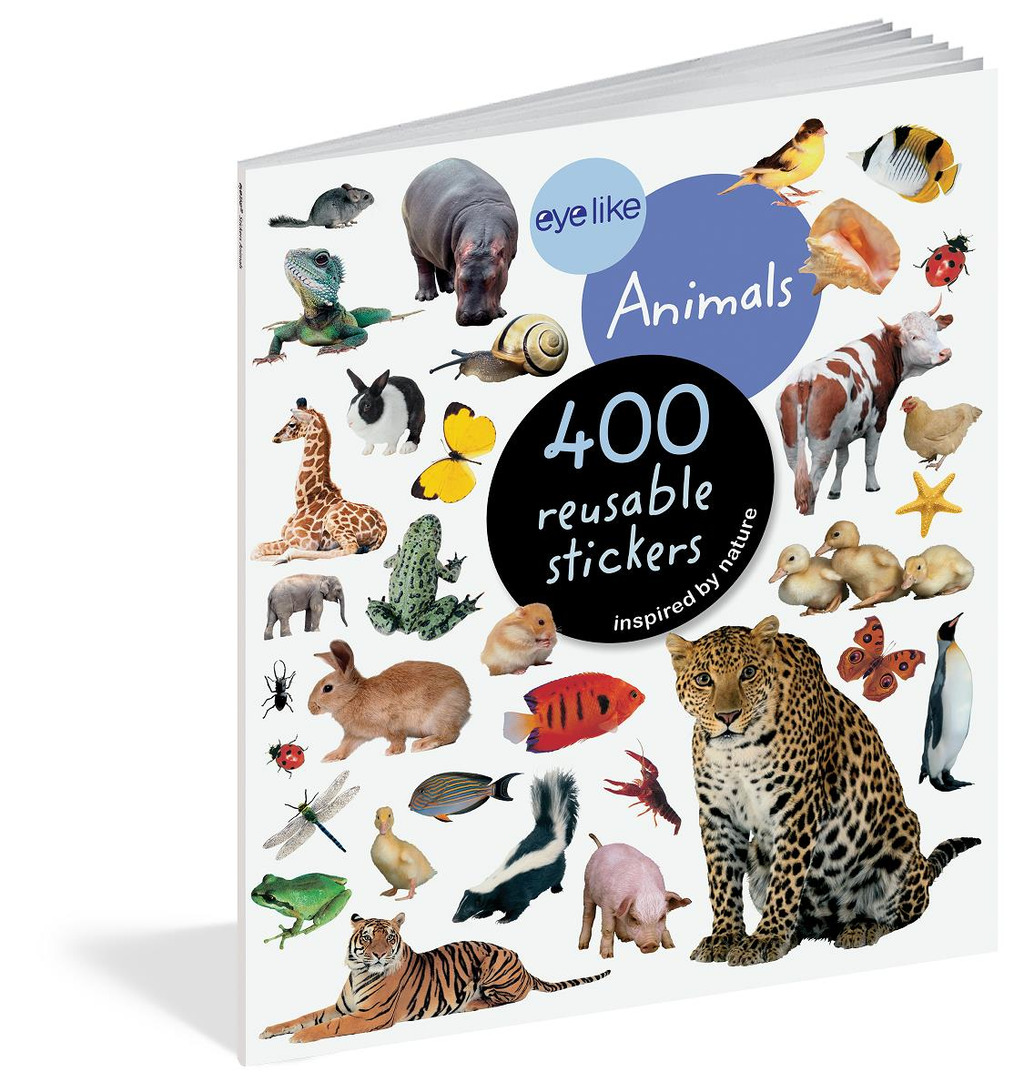 Book/Eyelike Stickers Animals