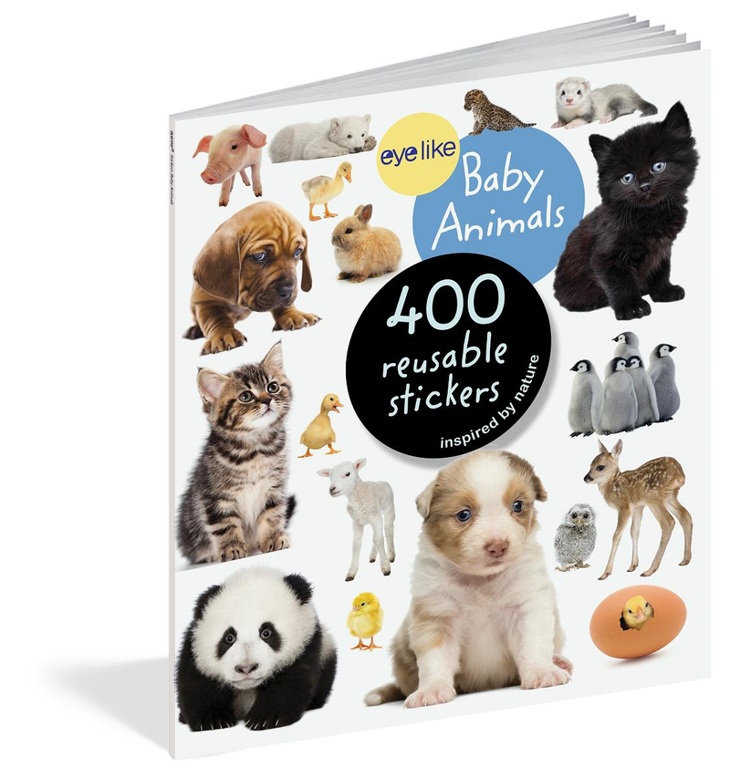 Book/Eyelike Stickers Baby Ani