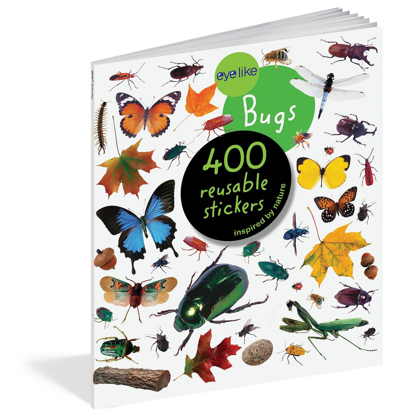 Book/Eyelike Stickers Bugs