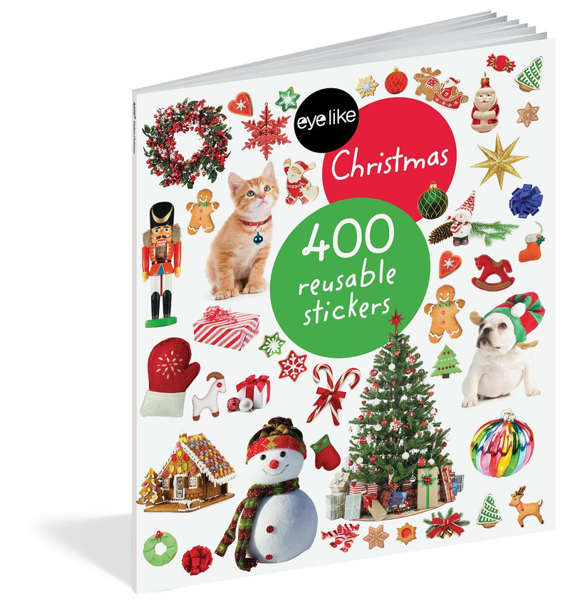 Book/Eyelike Stickers Christma