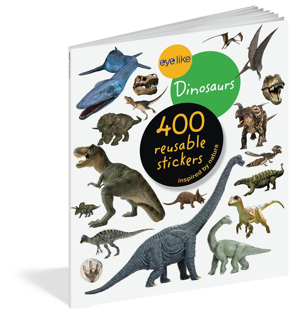 Book/Eyelike Stickers Dinos