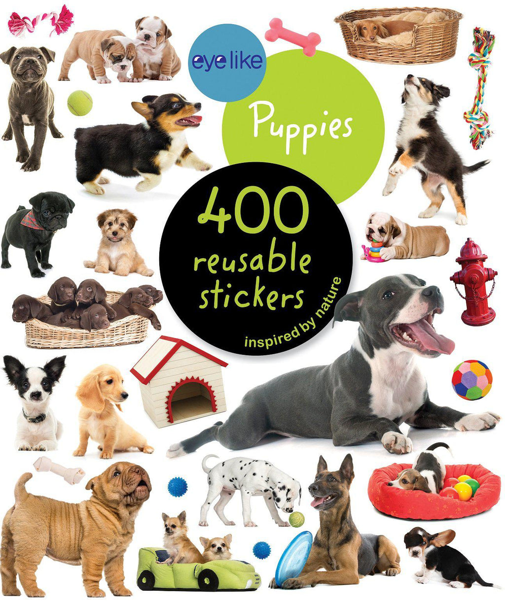 Book/Eyelike Stickers Puppies