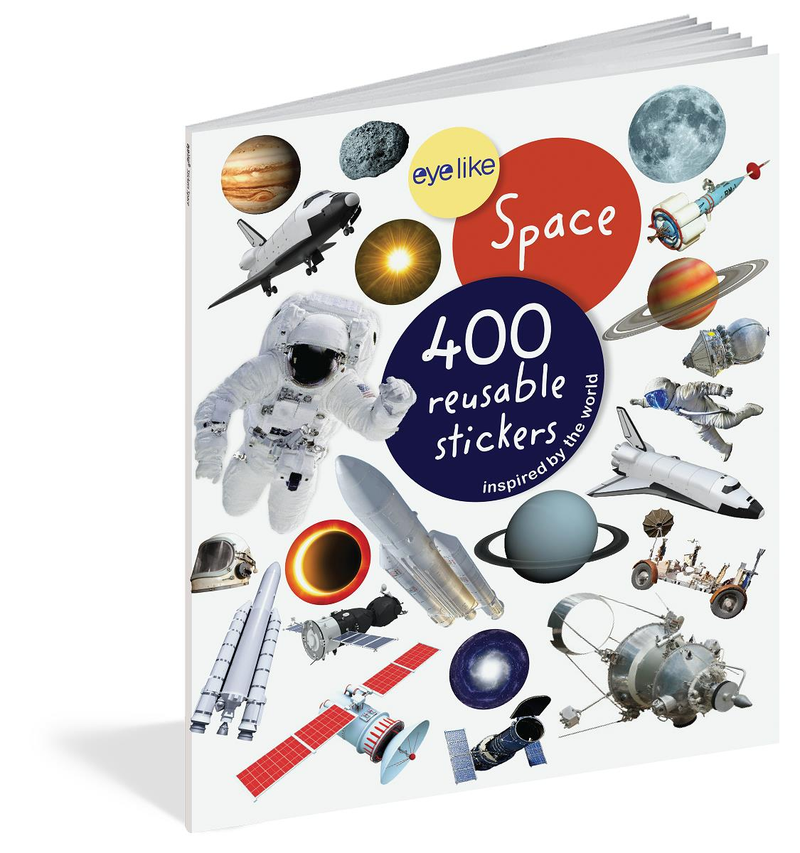 Book/Eyelike Stickers Space