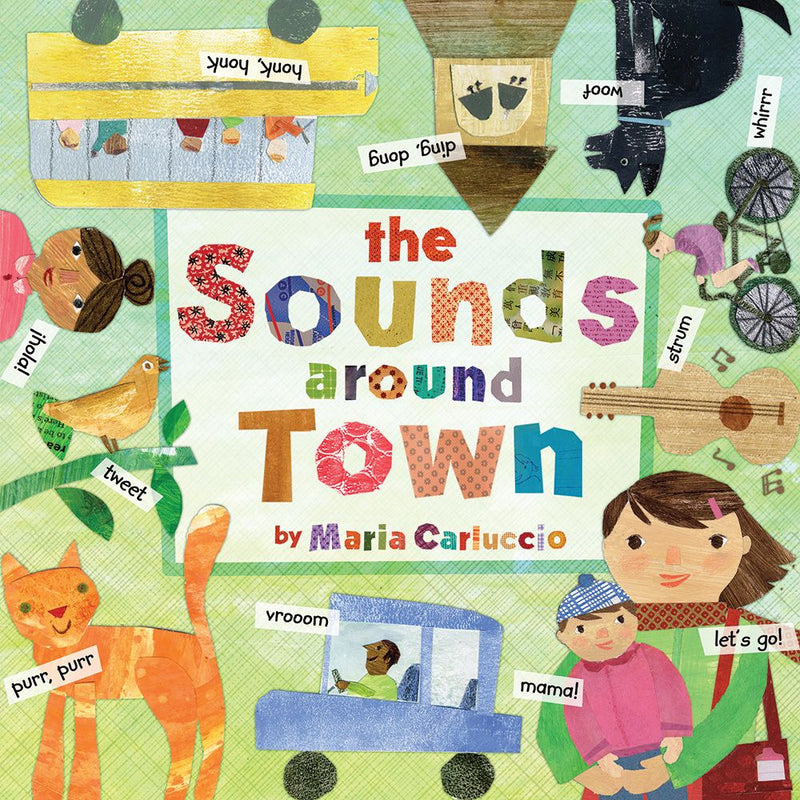 Board Book - Sounds Around Town