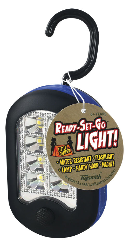 Toysmith Ready Set Go Light - Magnetic Light With Hook