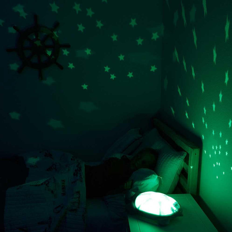Cloud B Nightlight Star Projector - Twilight Turtle - Natural
