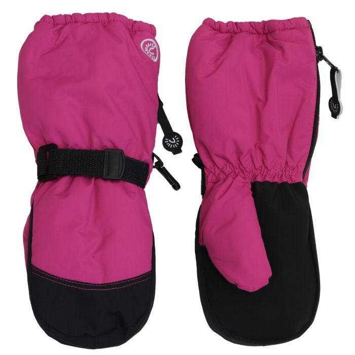 Calikids Winter Mitts - Long Cuff Zip - Cabaret