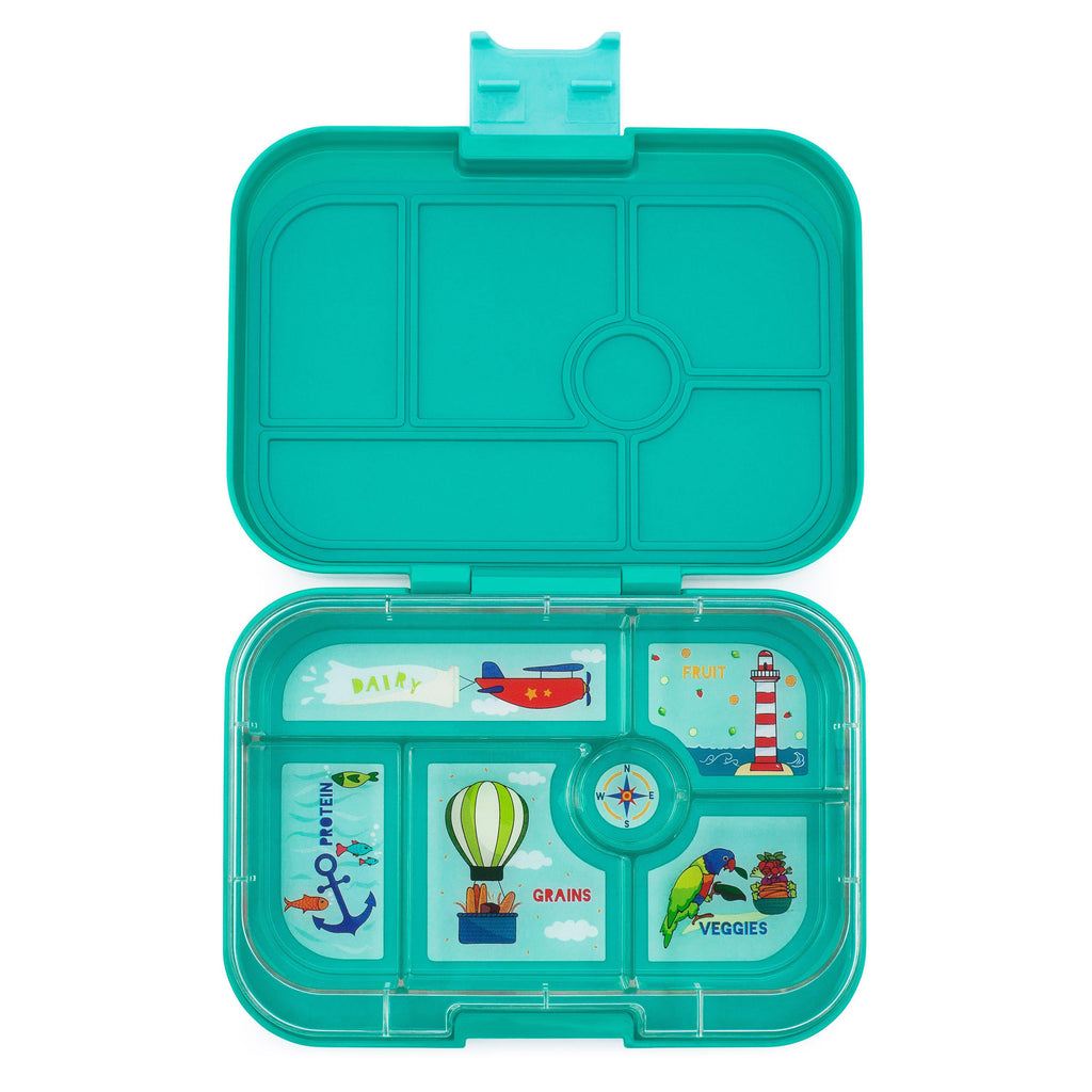 YumBox Original 6 Compartment Food Container