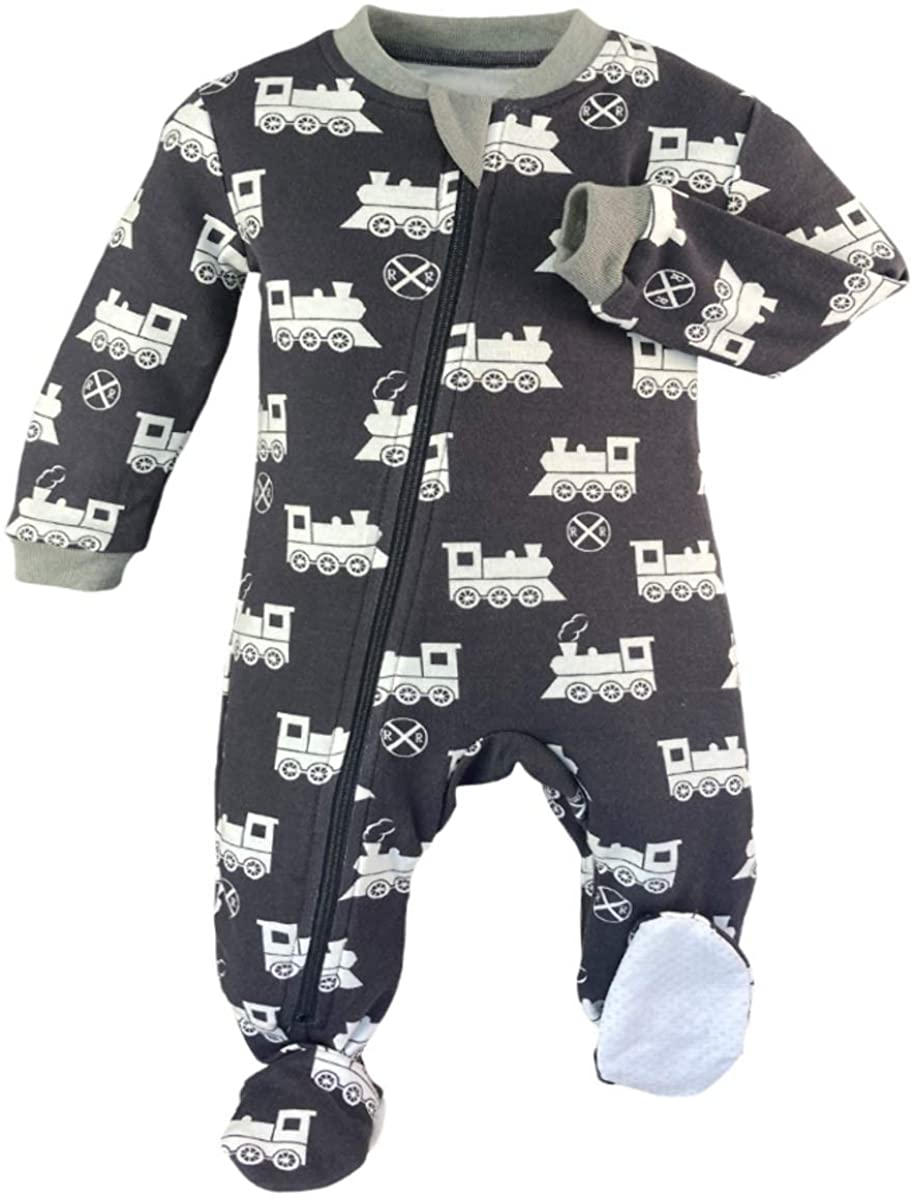 ZippyJamz Footed Coverall - Chugga Chugger
