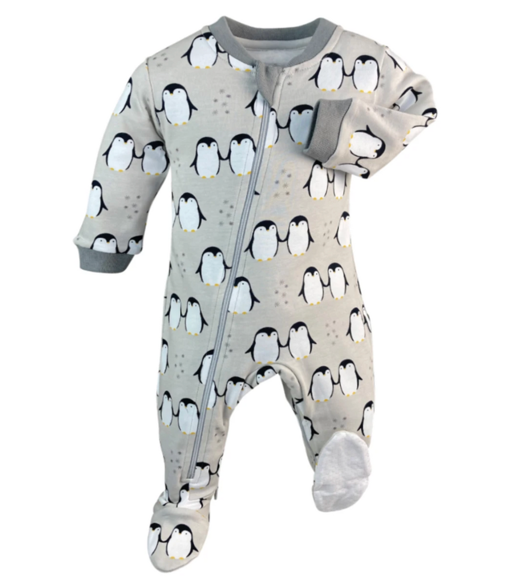 ZippyJamz Footed Coverall - Little Emperor