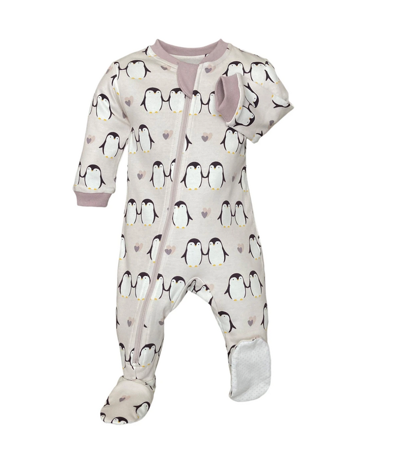 ZippyJamz Footed Coverall - Little Empress