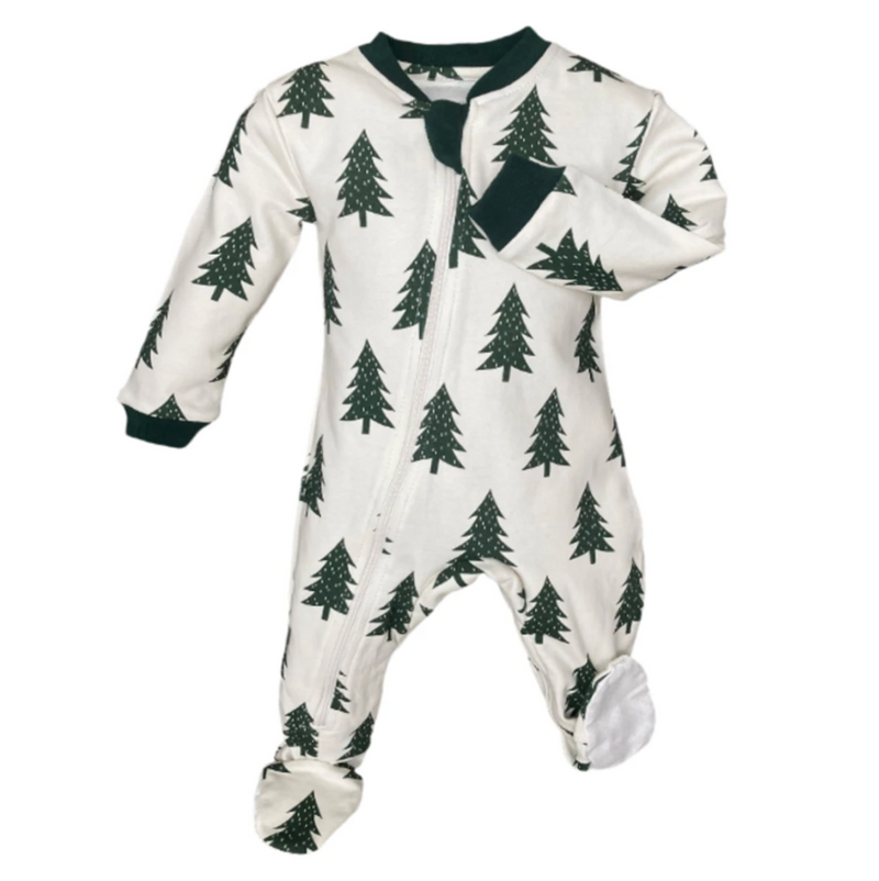 ZippyJamz Footed Coverall - Love You Firever
