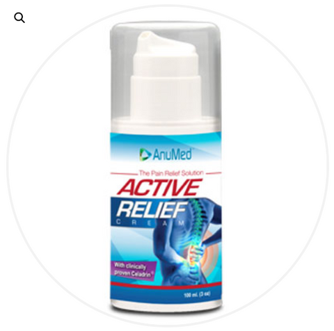 Active Relief Cream – 3 oz