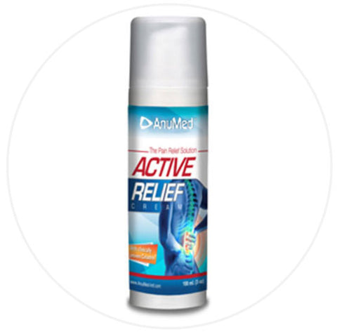 Active Relief Cream – The Pain Solution Travel Size 1.2 oz