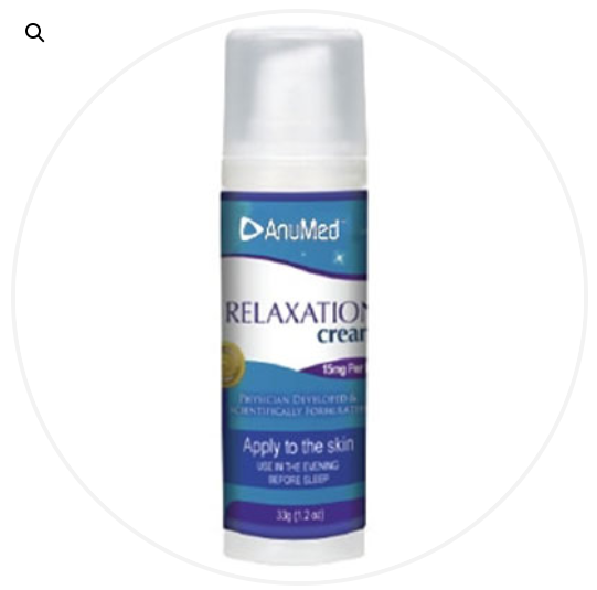 Relaxation/Stress or Sleep Aid Cream Travel Size 1.2 oz.
