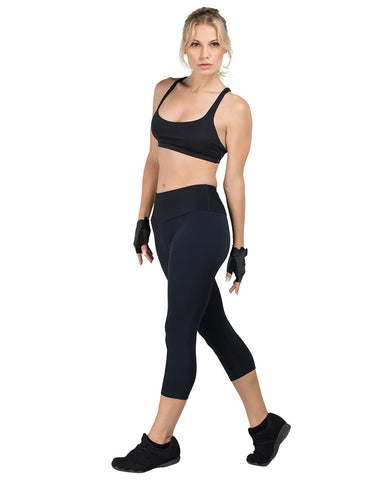 Mineral Infused Energizing Fitness Capris