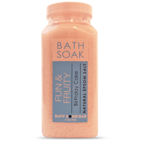 Birthday Cake Bath Soak