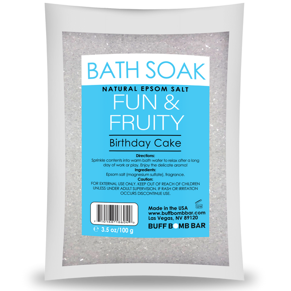 Birthday Cake Mini Bath Soak