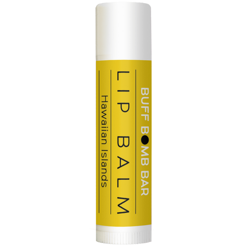 Hawaiian islands natural lip balm. A sweet treat with pineapple and coconut.