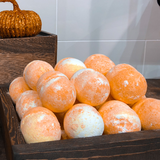 Pumpkin Spice Bubble Bath Bomb