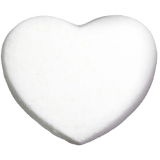 Heart bath bomb. A sweet chocolate fragrance. Say I love you.