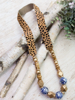 Sydney Cheetah Necklace