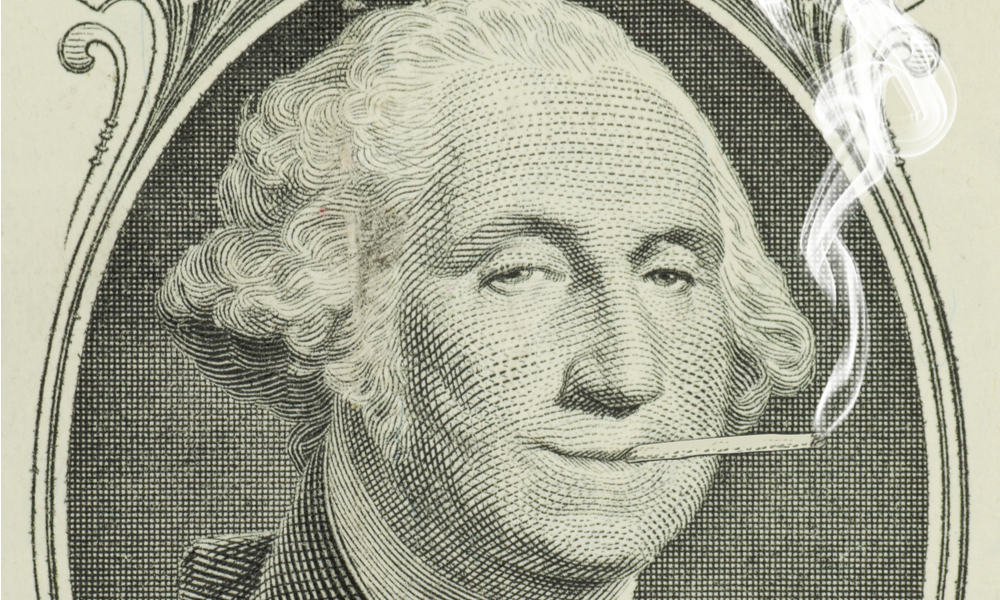 George Washington, Founding Father Of The United States, Grower Of Hemp.