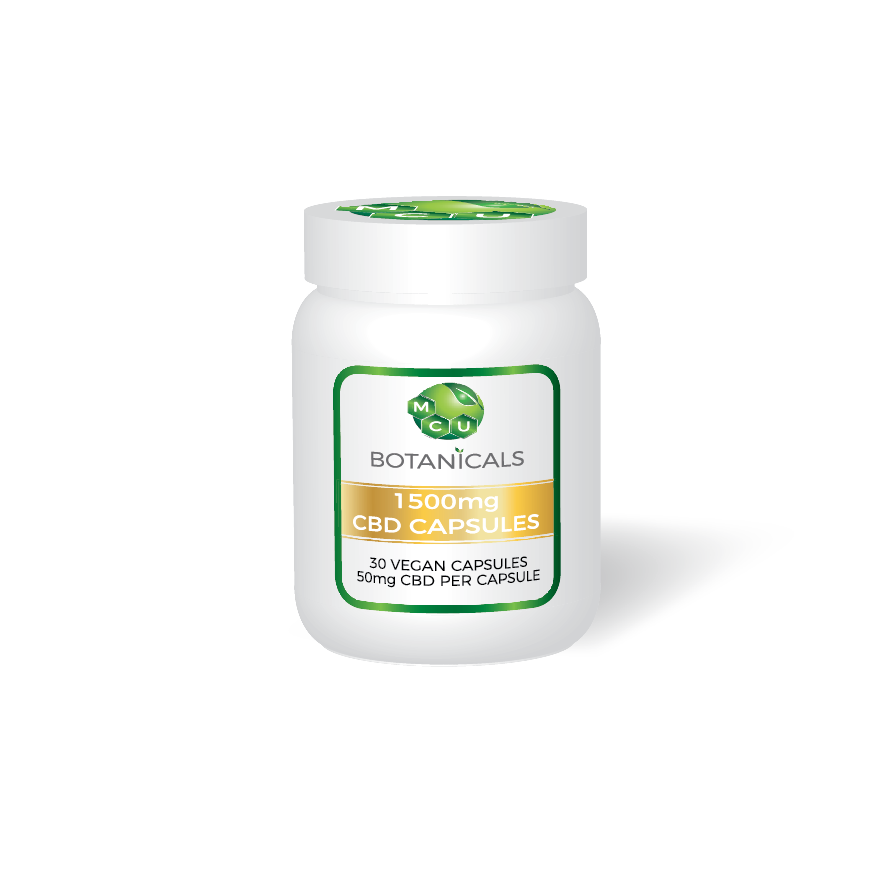 1500MG CBD OIL CAPSULES