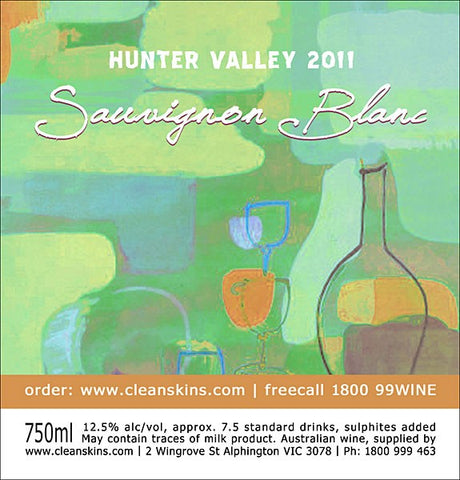 Hunter Valley 2014 Sauvignon Blanc x 12