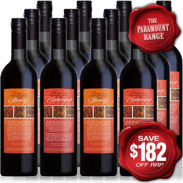 Paramount Red Wine Mixed Dozen - 2 x 6