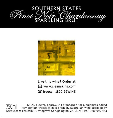 Southern States Pinot Chardonnay Sparkling Brut x 12