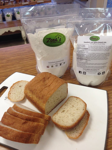 Freedom non-gmo bread mix