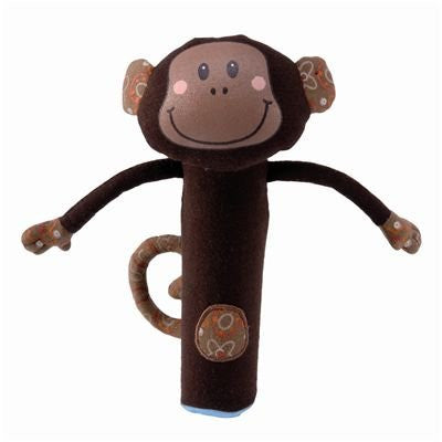 Basile Monkey Rattle By Lilliputiens