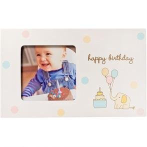 Babyprints HAPPY BIRTHDAY frame - 3.5x3.5